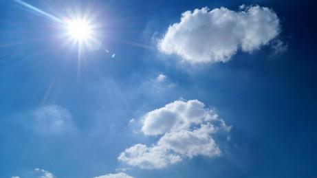 Sonnenschein, Himmel, Wolken